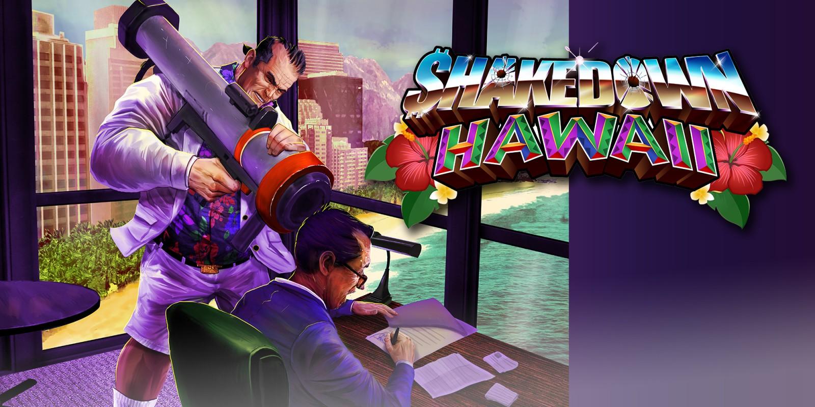 Shakedown: Hawaii, versione fisica per Nintendo Switch e digitale per Nintendo 3DS