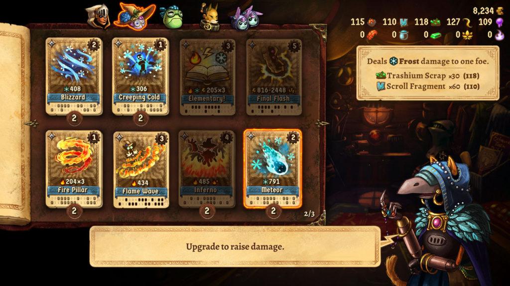 Steam World Quest Hand Of Gilgamech_recensione di NintendoPlayer