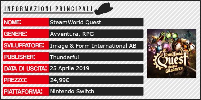 SteamWorld Quest: