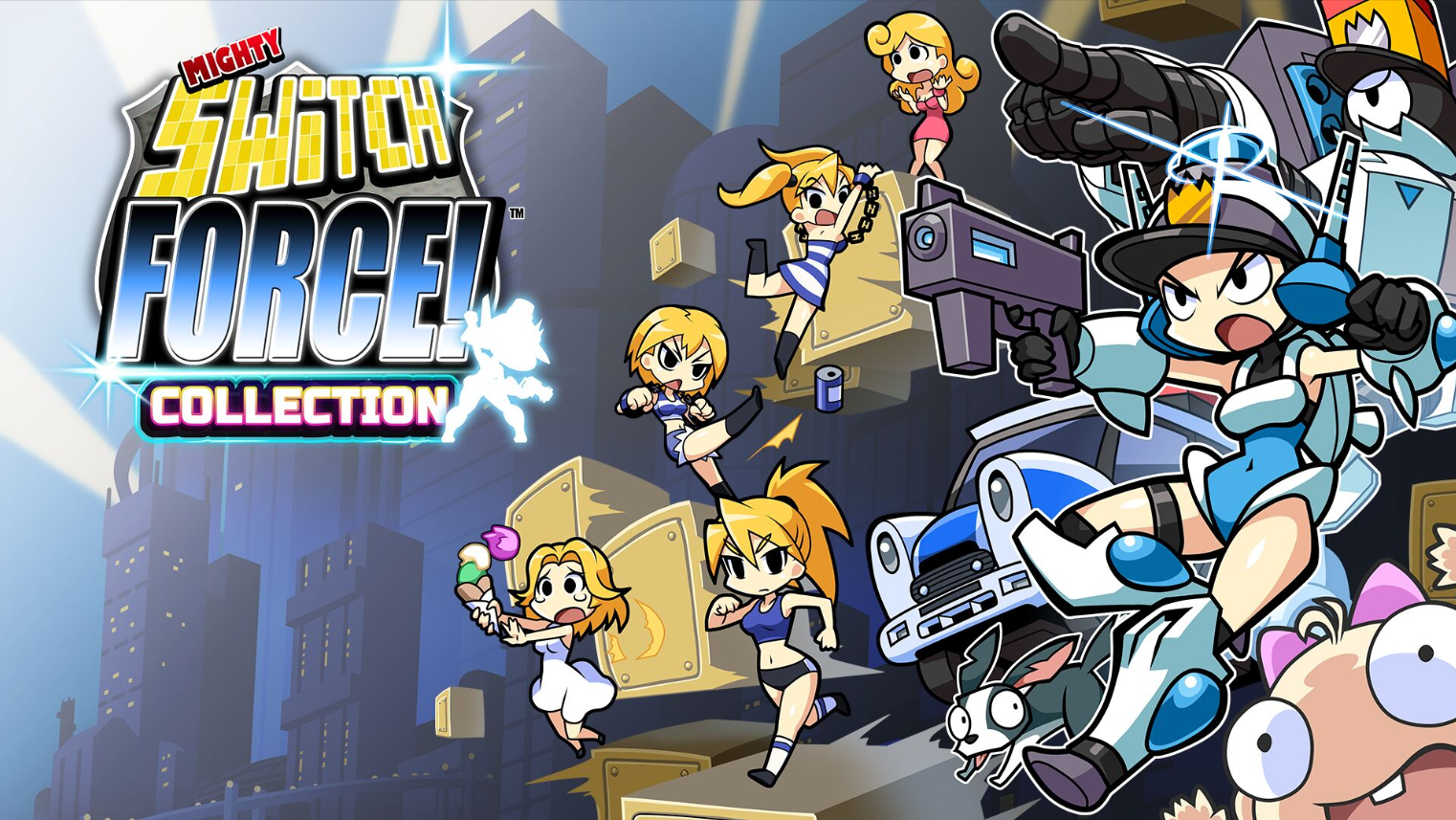 Mighty Switch Force Collection - Recensione