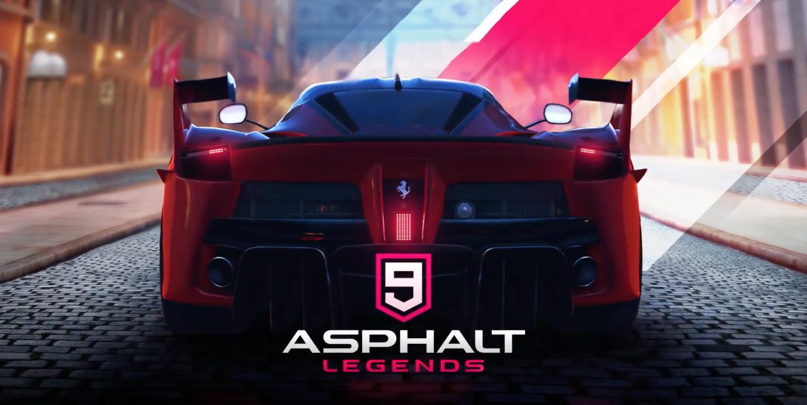 Asphalt 9: Legends arriva su Nintendo Switch quest'estate