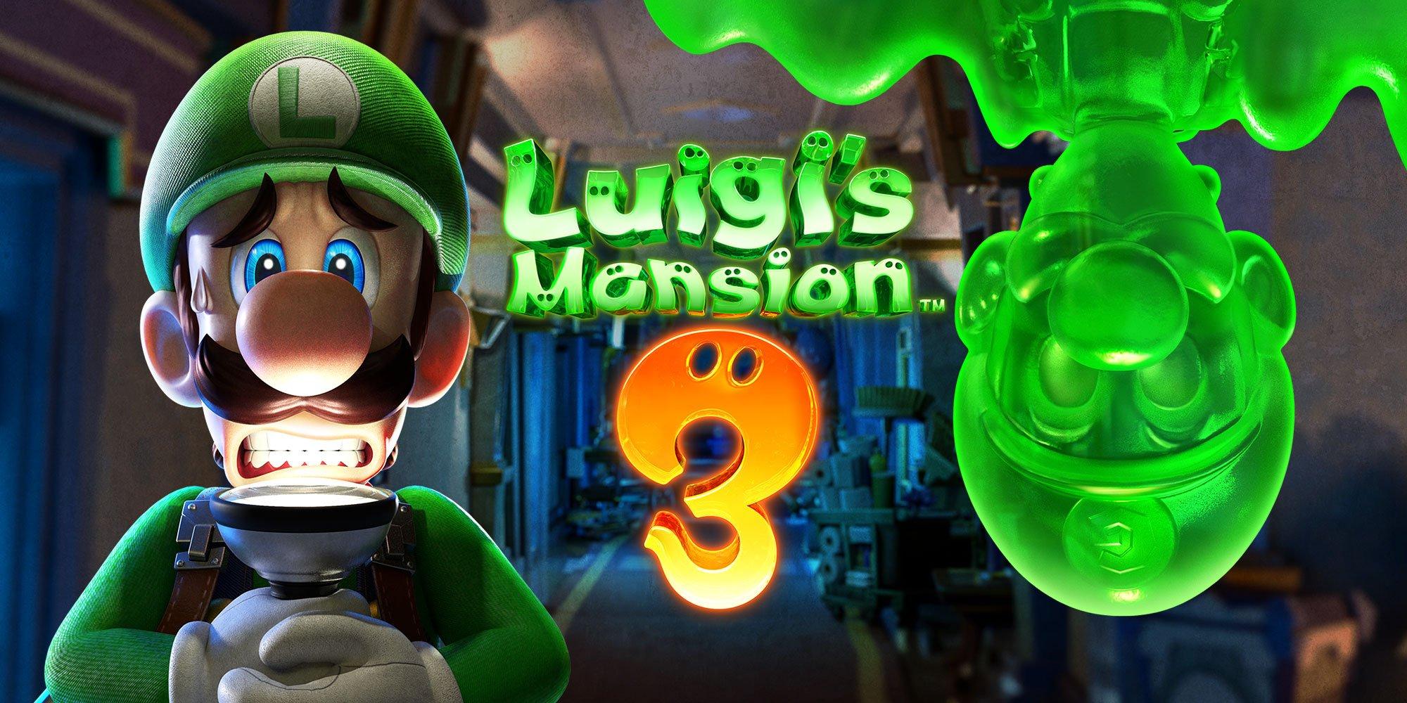 Luigi's Mansion 3, ecco la possibile data d'uscita del titolo