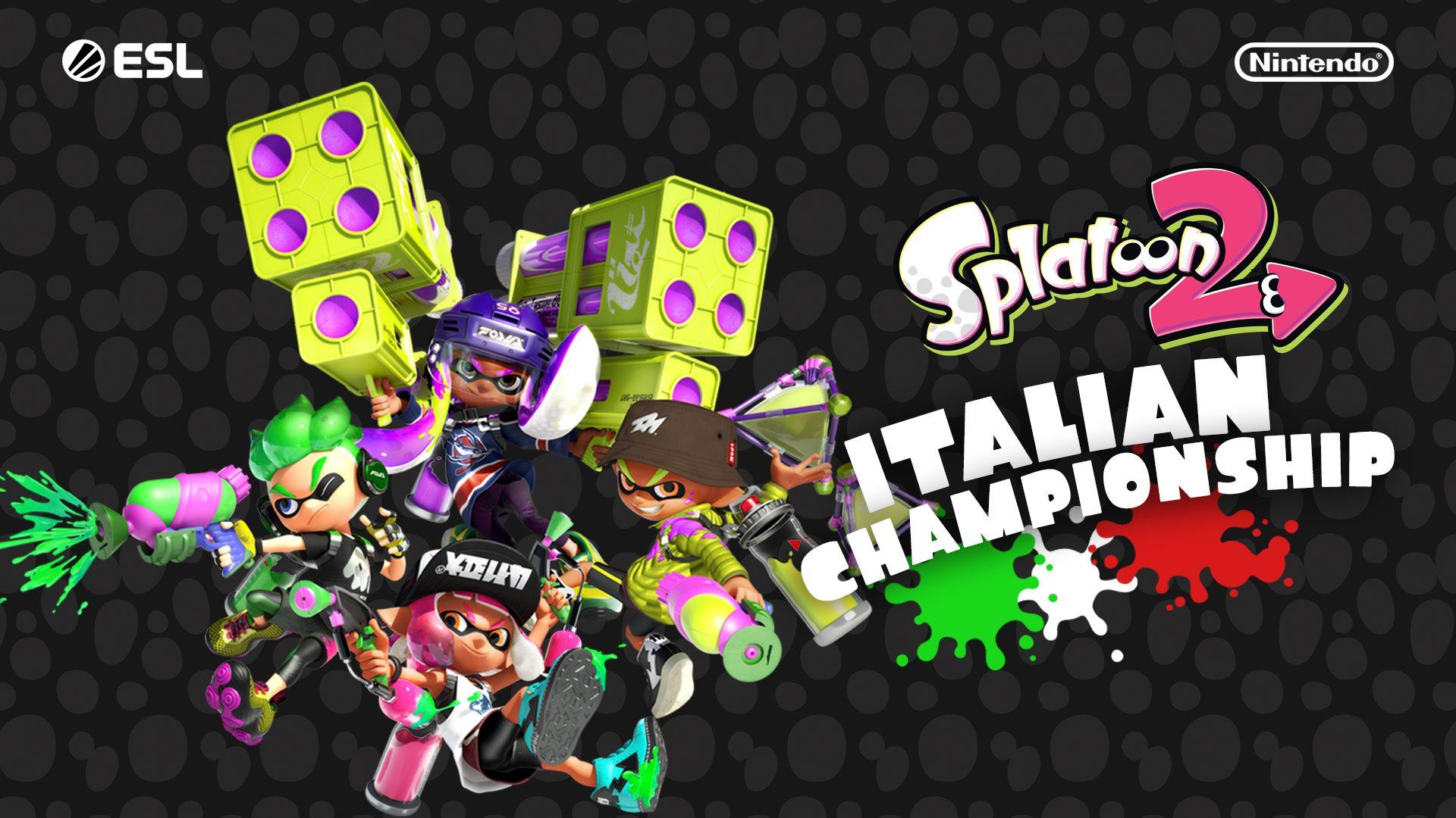 L'estate sta finendo? Niente paura grazie allo Splatoon 2 Italian Championship 2019-2020!