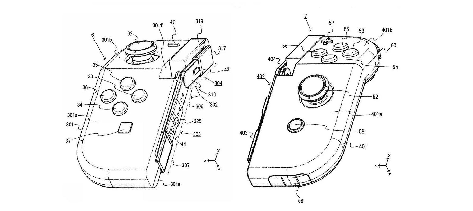 Nintendo deposita un brevetto per dei Joy-Con pieghevoli in Giappone