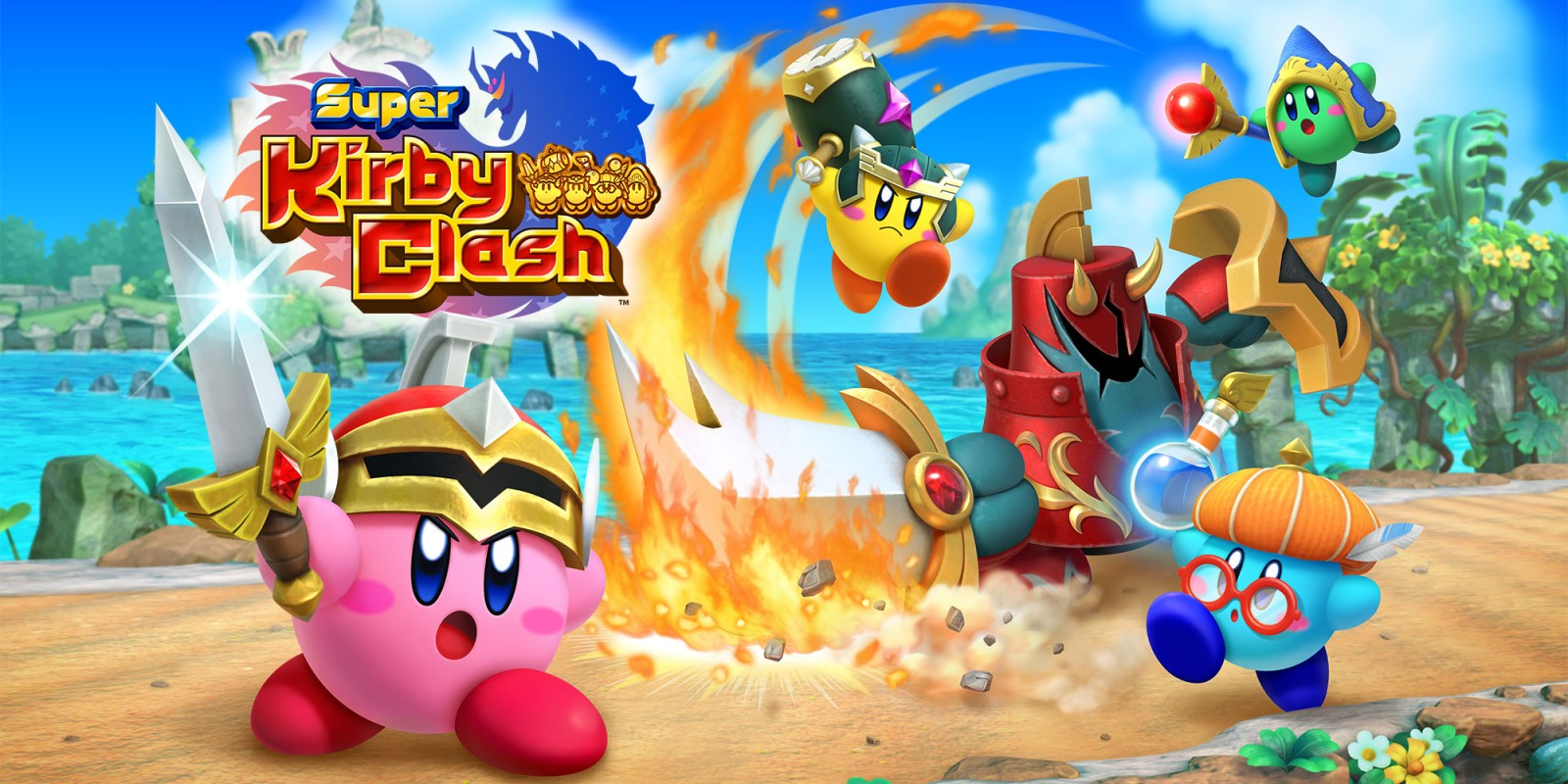 Super Kirby Clash disponibile gratuitamente su Nintendo Switch