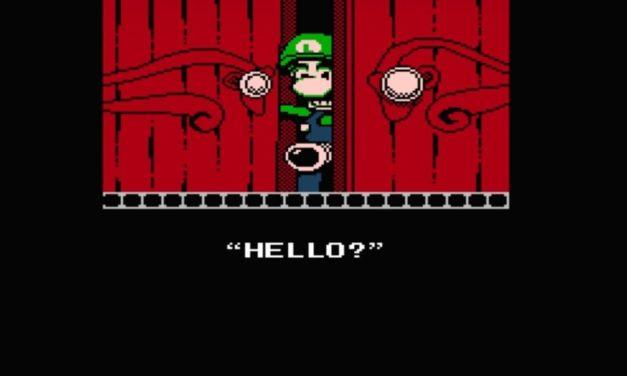 Guardate questo fantastico demake di Luigi's Mansion 3