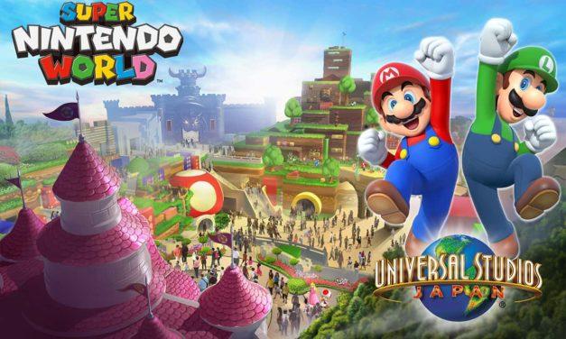 Super Mario World prende forma, ecco le prime costruzioni