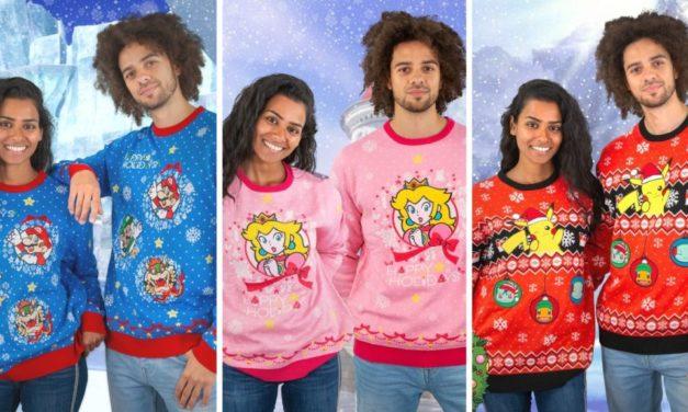 Ugly Sweaters apre il preordine per le sue felpe natalizie a tema Nintendo