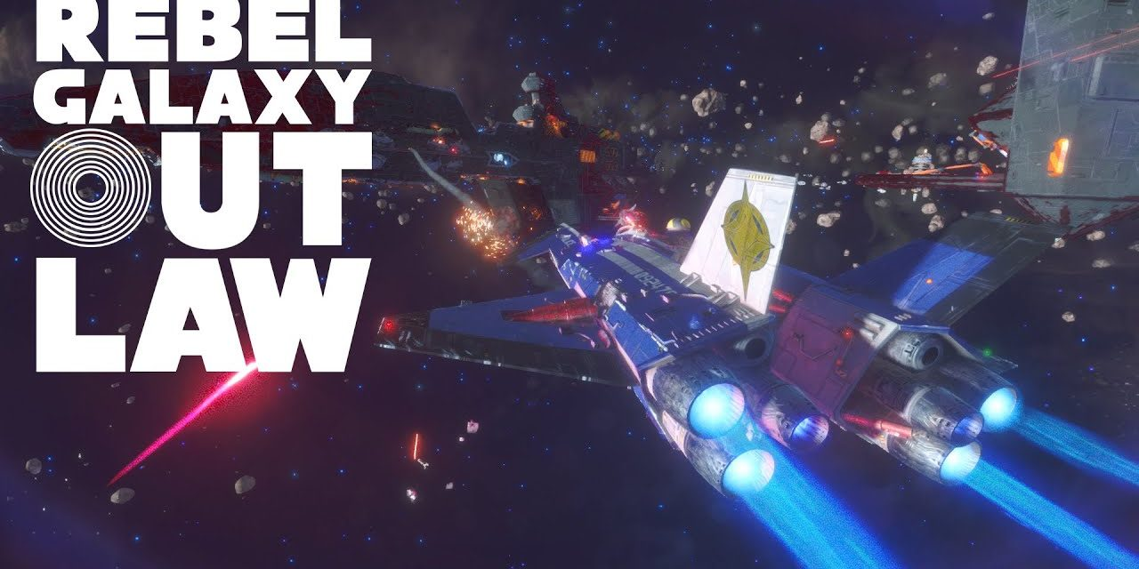 Rebel Galaxy Outlaw si mostra in un video gameplay