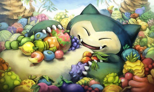 Anche Snorlax si unisce alle mascotte del Pokémon Center